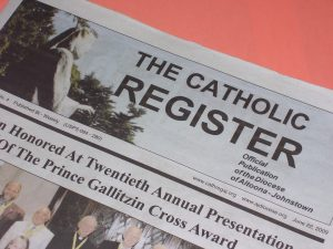 Thw Catholic Register