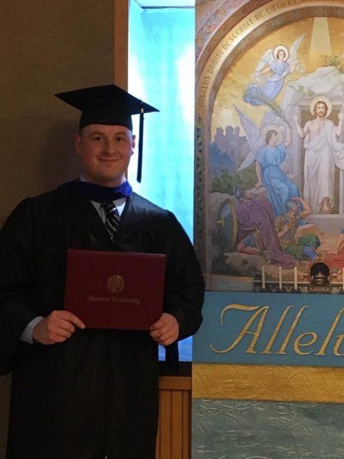 Michael Pleva Graduation
