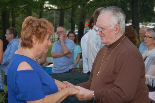 Outdoor Mass For Married Couples