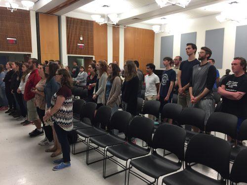 Bishop Visits PSU Catholic Students