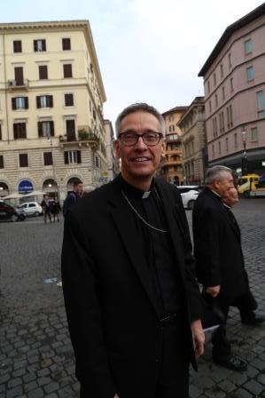 Bishop Mark's Ad Limina Visit To Rome, 2019